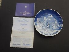 Piatto di Natale BING & GRONDAHL 1984 (ROYAL COPENHAGEN) originale 1a scelta