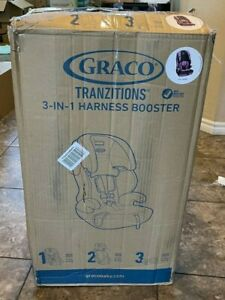 Graco Tranzitions 3 in 1 Harness Booster Seat, Kyte *Free Fast Delivery*