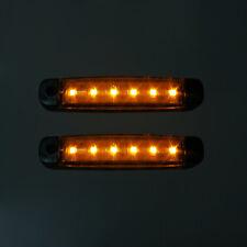 2 Stück LED Umrißleuchte Leuchte Lampe Begrenzungsleuchte 12/24V Orange PKW LKW