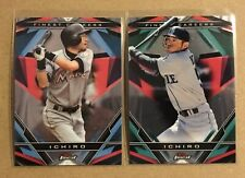 2020 Topps Finest ICHIRO 2x lot finest careers Mariners FCI-2 & 9