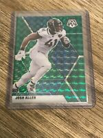 Josh Allen 2020 Panini Mosaic Green Prizm Jaguars Card #102