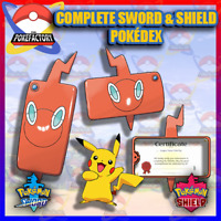 Pokemon Sword and Shield ALL 436 POKEMON - Complete Galar Pokedex + EXTRA
