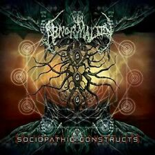 """Abnormality """"Sociopathic Constructs"""" CD [female fronted Brutal US Death Metal]"""
