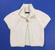 Only coprispalle golfino maglione wonda bolero S usato donna bianco top T3684