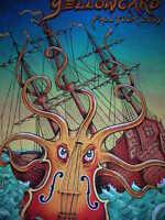 Emek Yellowcard 2004 Signed Silkscreen Print Limited Edition Concert Poster