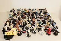 76 Star Wars Attacktix 2005 LFL Hasbro Figures Boba Feta, Luke, Solo, Chewy RARE