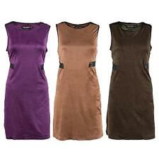 Unbranded Round Neck Synthetic Dresses for Women