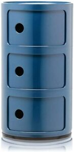 Kartell Container To 3 Drawers 'Componibili' Design A.Castelli, Original, Blue