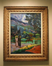 PAUL GAUGUIN PAINTING - 20TH CENTURY ART- IMPRESSIONIST