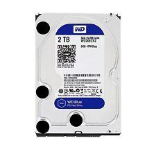 """Western Digital WD Blue 2TB 3.5"""" SATA Internal Desktop Hard Drive HDD 5400RPM"""