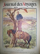 ETATS-UNIS WYOMING LOI DE LYNCH INDE PRETEUR DE MONNAIE JOURNAL DES VOYAGES 1911