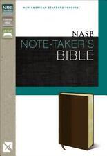 NASB Note-Taker's Bible by Zondervan (2014, Paperback)