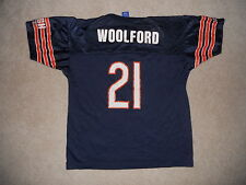 Chicago Bears Football Jersey Vintage Champion Donnell Woolford #21 1990s Youth