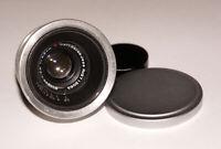 Rare Carl Zeiss Biogon 35 mm 2.8 Prime Lens LTM Leica M39 & Leica M RF Coupled!