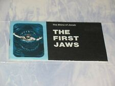 THE FIRST JAWS   CHICK CHRISTIAN/ GOSPEL TRACT  1985    JACK CHICK PUBLICATIONS