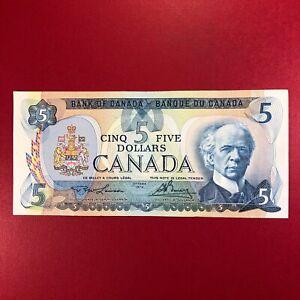1979 Canada 5 Dollar Lawson  /  Bouey  Banknote Circulated