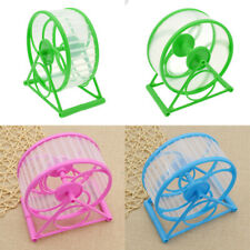 Wheel Running Exercise Plastic Scroll Silent Hamster Mouse Rat Gerbil Pet Toys