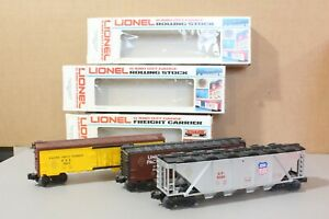 Lionel O gauge 3 freight cars 6-9811, 6-9366, 6-9419  Nice