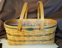 Longaberger 1999 Traditions Collection GENEROSITY BASKET With 2 Protectors