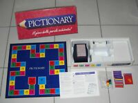 PICTIONARY Il gioco delle parole schizzate MB Giochi 1996 scatola rossa OTTIMO