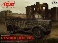 ICM 1/35 MERCEDES L1500A (Kfz.70) II Guerra Mundial Alemán Personal coche #35525