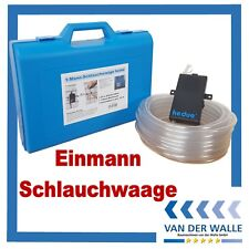 Elektr.Schlauchwaage HEDÜ Einmann Nivellier