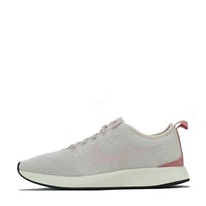 Nike Dualtone Racer Women's Trainers Shoes Silt Red UK 4