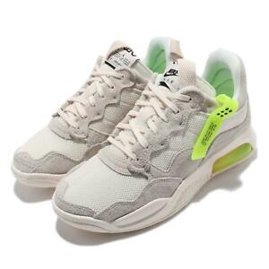 Nike Jordan MA2 Pale Ivory Black Volt Men Casual Lifestyle Shoes CV8122-107