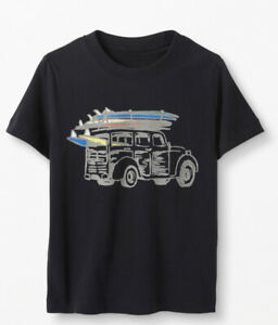 """HANNA ANDERSSON Awesome Boys """"CAR"""" Shirt 8-10 Years. 140 Soft $24"""