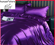 Silky Silk Four-Piece Set Sheet Quilt Cover Satin Bedding Bedding 4-Piece Set
