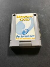 Memory Card Performance Brand for Nintendo 64 N64 #70
