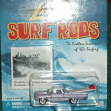 "JOHNNY LIGHTNING 1959 CHEVY EL CAMINO PICK UP TRUCK  w ""SURF ROD"" 1/64"