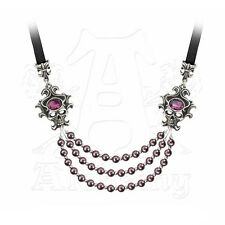 Necklace Collier Gothique Alchemy Gothic The Palatine Pearls Of The Underworld
