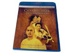 Crouching Tiger, Hidden Dragon (Blu-ray Disc, 2007) Brand New Sealed