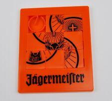Jägermeister USA Puzzle Spiel Schiebespiel Schiebepuzzle orange