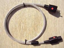 2 Stück High-End Power Cord Netzkabel  1,2 m Lapp Typ Ölflex 110 CY 3x 1,5m²
