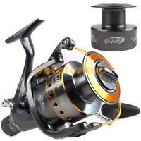 Upgraded Baitfeeder Spinning Fishing Reel Spare Spool Bait Runner 11BB 3000-6000