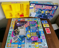 Simpson's Monopoly Board Game Electronic Banking Excellent Condition Complete
