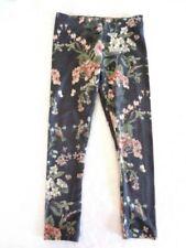 Full Length Floral Cotton Blend Leggings (2-16 Years) for Girls