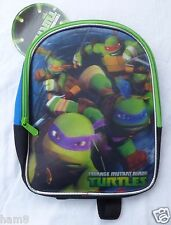 Childrens Backpack Teenage Mutant Ninja Turtles Holograph  New With Tags