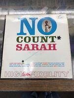 Sarah Vaughan No Count Sarah Original Vinyl Record LP O-342