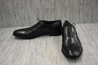 Bruno Magli Maioco Cap Toe Leather Oxfords, Men's Size 14, Black