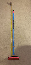 Asham Composite Easy Lite Blue CURLING BROOM WITH PAD Used