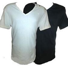 Cotton V Neck Short Sleeve G-Star T-Shirts for Men