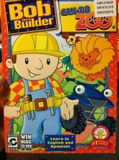 BOB THE BUILDER: CAN DO ZOO (PC/MAC) Win 8 / 7 / VISTA / XP / OSX * BRAND NEW