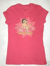 BETTY BOOP JUNIORS NOVELTY T-SHIRT RETRO HOTTER YOU S!!