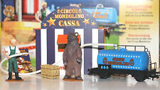 Märklin H0 78090 Circus Mondolino Set Tierpflege Neu