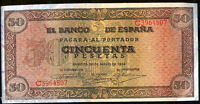 50 Pesetas 1938 Burgos Castillo de Olite @ Sin Circular @