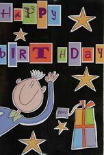 Brother -  Bruv Birthday Card  with Blue Envelope