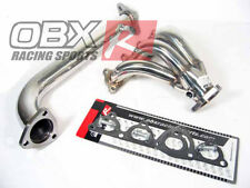 OBX Header Exhaust Fits 1988-91 CRX Si 1992-00 Civic 1988-91 Civic EX Si D16Z6